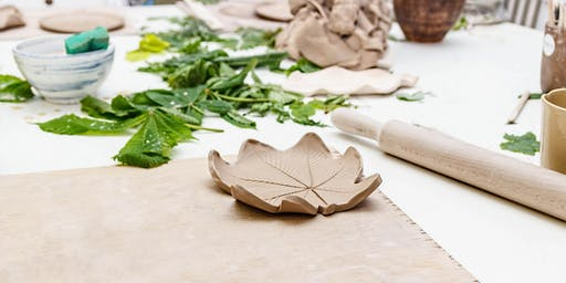 Clay Leaf Bowls - School Holiday Program