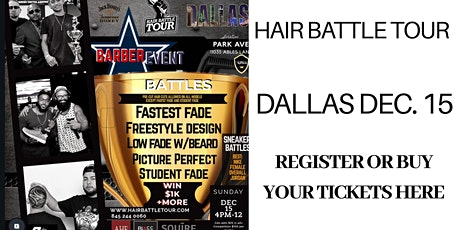 XOTICS HAIR BATTLE TOUR DALLAS DECEMBER 15, 2019 tickets