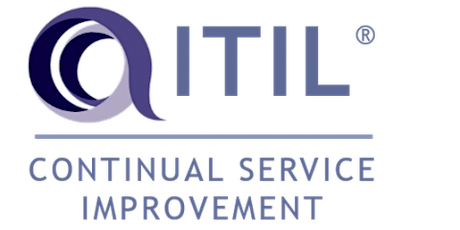 ITIL – Continual Service Improvement (CSI) 3 Days Training in Atlanta, GA tickets