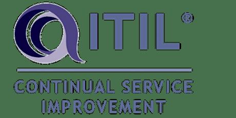 ITIL – Continual Service Improvement (CSI) 3 Days Training in Boston, MA tickets