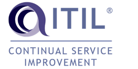 ITIL – Continual Service Improvement (CSI) 3 Days Training in Irvine, CA tickets