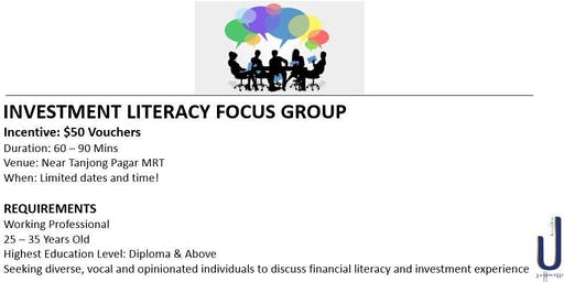 Investment Literacy Focus Group