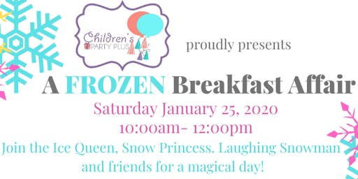 Frozen Breakfast Affair - High Tea Party