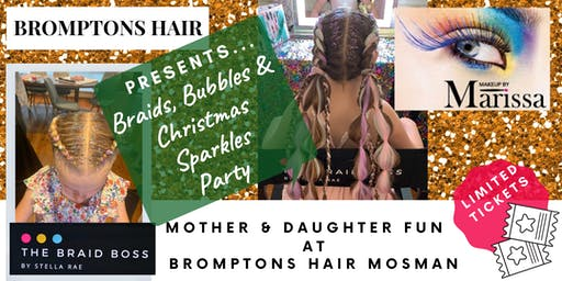 Braids Bubbles & Christmas Sparkles at Bromptons Hair  Mosman
