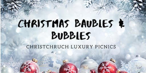 Christmas Baubles & bubbles