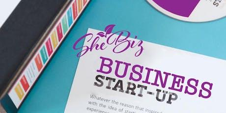 SheBiz- Business Startup  Workshop tickets