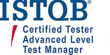 ISTQB Advanced – Test Manager 5 Days Training in Austin, TX tickets