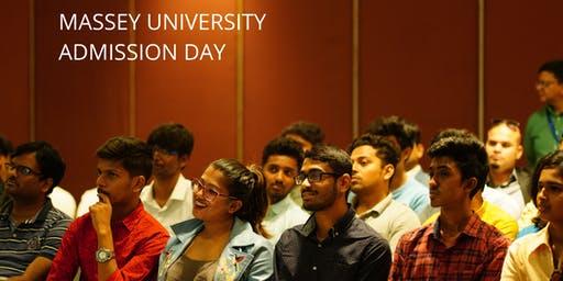 Massey University Admission Day