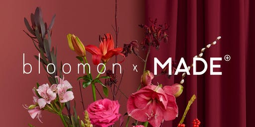 ONE DAY ONLY - bloomon x MADE.COM workshop
