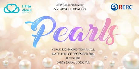 """Little Cloud Foundation Charity 5 years celebration- """"Pearls"""" tickets"""