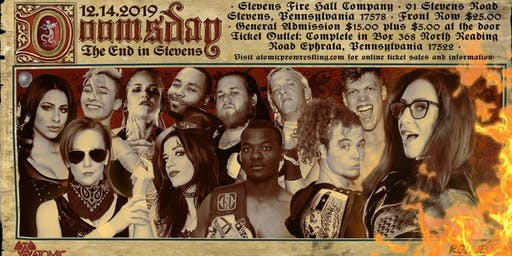 ACW/ Rogue Presents Doomsday on 12/14 in Stevens, PA