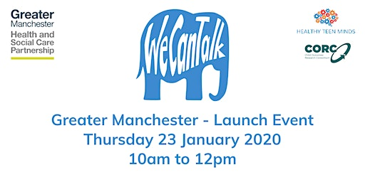 We Can Talk across Greater Manchester launch event