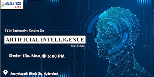 Register For Free Interactive Session On AI Training 13th Nov, 6 PM Hyd.
