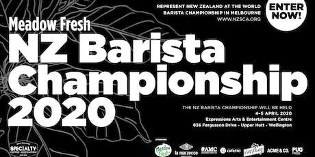 Meadow Fresh NZ Barista Championship 2020 tickets