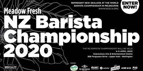 Meadow Fresh NZ Barista Championship 2020 tickets