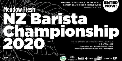 Meadow Fresh NZ Barista Championship 2020