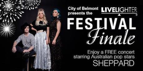 LiveLighter Festival Finale tickets