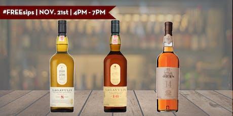 #FREEsips | Lagavulin & Oban Single Malt Scotch Tasting tickets