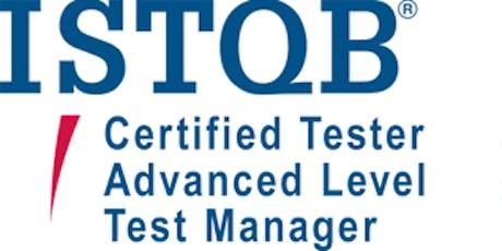 ISTQB Advanced – Test Manager 5 Days Training in Washington, DC tickets