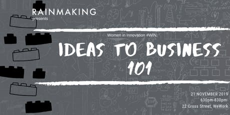 RM Women in Innovation Presents: Ideas to Business 101 tickets