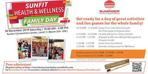Sunrider Singapore SunFit Health & Wellness Family Day
