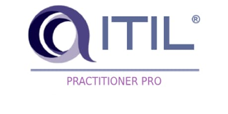 ITIL – Practitioner Pro 3 Days Training in San Jose, CA tickets