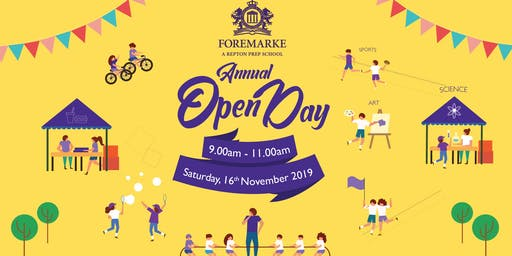 Foremarke's Annual Open Day