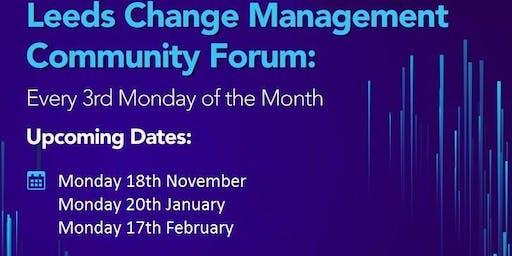 Leeds Change Management Forum - November
