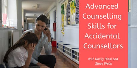 Advanced Counselling Skills for Accidental Counsellors 2020 tickets