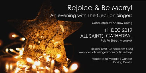 Rejoice & Be Merry!  An Evening with the Cecilian Singers