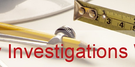 Statutory Investigations Course - 3 day workshop Wellington tickets