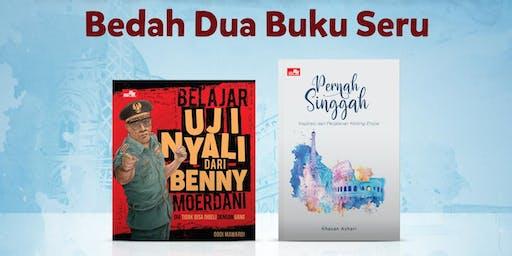 Bedah Buku: Belajar Uji Nyali dari Benny Moerdani dan Pernah Singgah
