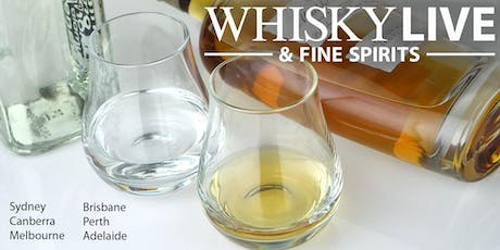 Whisky Live Canberra 2020 tickets