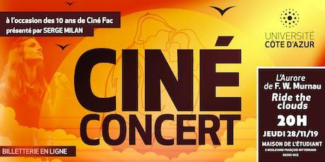 10 ans Ciné Fac avec Ride The Clouds billets