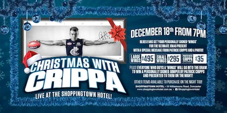 Christmas with Crippa LIVE at Shoppingtown Hotel! tickets