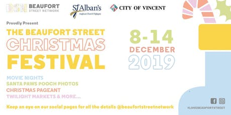 Vendor registration: Christmas Twilight Markets on Beaufort Street tickets