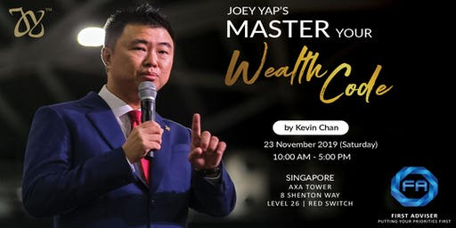 Joey Yap's Master Your Wealth Code By Kevin Chan