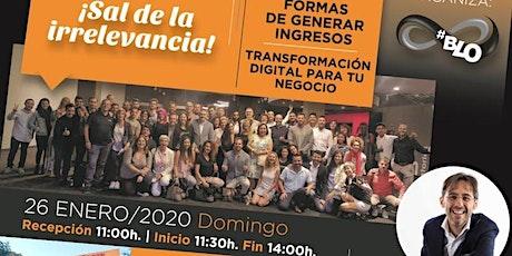Evento BLO con Sergio Fernández entradas