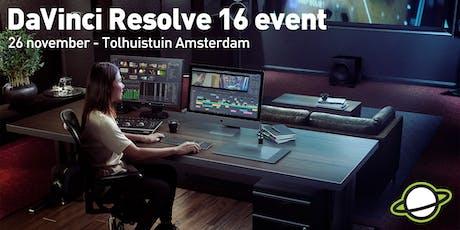 DaVinci Resolve 16 event tickets