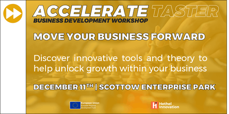 Accelerate - Unlock Growth in your Business tickets
