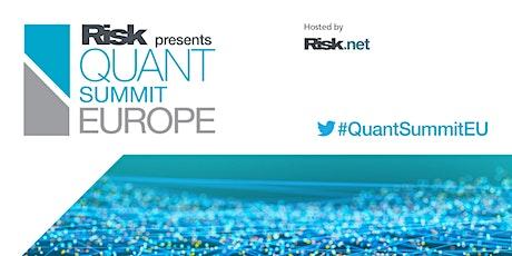 Quant Summit Europe 2020 tickets