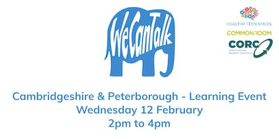 We Can Talk across Cambridgeshire & Peterborough Learning Event