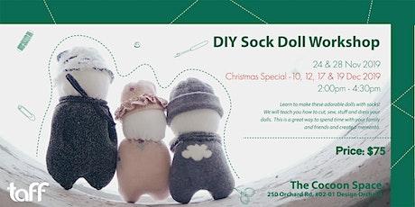 DIY Sock Doll Workshop tickets