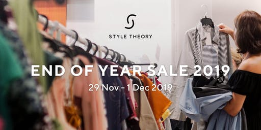 Style Theory's End of Year Sale 2019