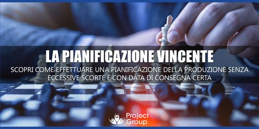 Workshop gratuito: pianificazione della produzione senza eccessive scorte