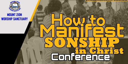 How to Manifest Sonship in Christ Conference