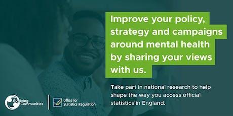 OSR - Mental Health Statistics Workshop - Birmingham tickets