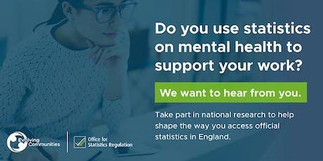 OSR - Mental Health Statistics Workshop - Bristol tickets