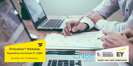 EYnovation™ Workshop: Negotiating a Term Sheet with Investors ft. CNBB Venture Partners tickets