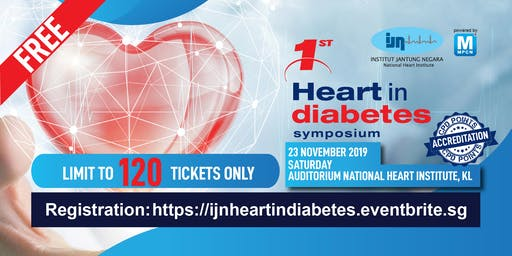 [FREE REGISTRATION-DOCTOR ONLY] IJN 1st Heart In Diabetes Symposium